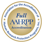 AAHRPP Accreditation Seal